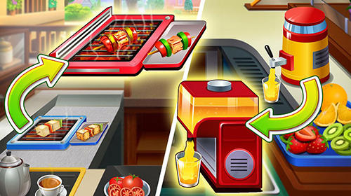 Screenshot Patiala Babes: Koch-Café auf dem iPhone