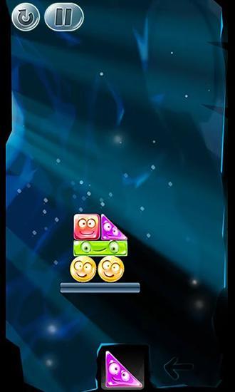 Arcade-Spiele Crystal stacker für das Smartphone