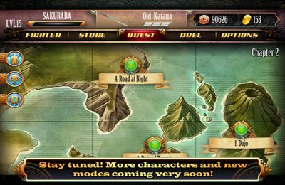 Fighting games: download Blade Lords to your phone
