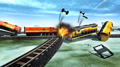 Train oil transporter 3D pour Android