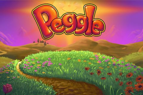 Screenshot Peggle auf dem iPhone