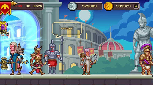 Strategie Monster arena: Fight and blood für das Smartphone