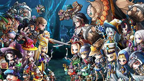Strategische RPG-Spiele Mystic heroes auf Deutsch