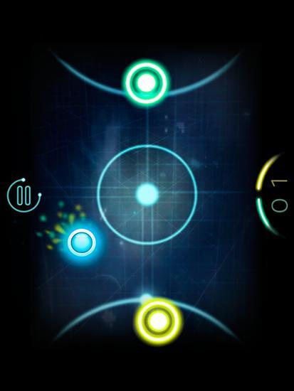 Glow air space hockey für Android
