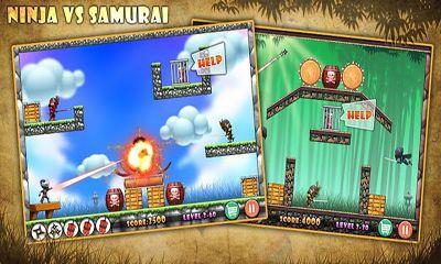 Ninja vs Samurais Screenshot