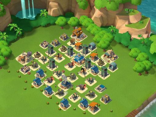 Strategy games Boom beach for smartphone