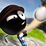 Stickman cross golf battle Symbol