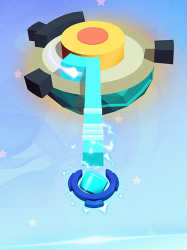Arcade Plant planet 3D: Eliminate blocks and shoot energy für das Smartphone
