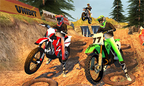 Offroad moto bike racing games Screenshot