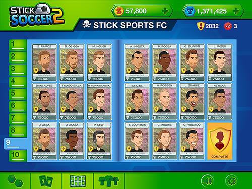 Arcade Stick soccer 2 für das Smartphone