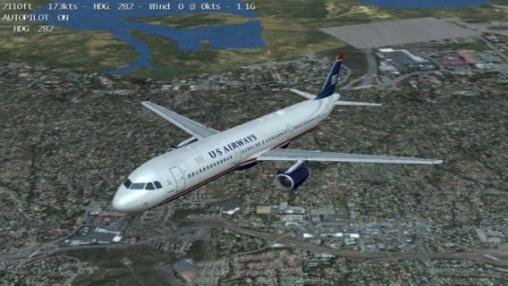 Simulator-Spiele: Lade Der unendliche Flug - Flugsimulator auf dein Handy herunter