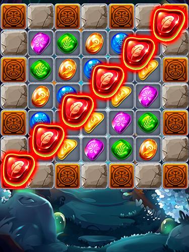 Arcade-Spiele Jungle crush diamond für das Smartphone