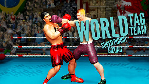 World tag team super punch boxing star champion 3D captura de pantalla 1