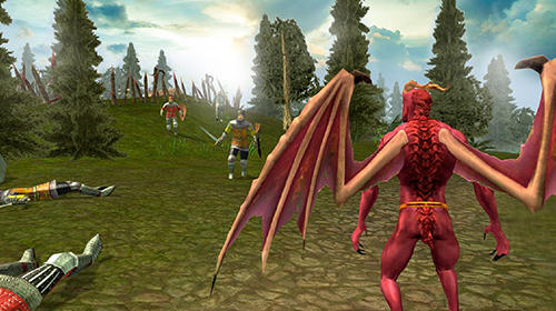 Gargoyle flying monster sim 3D pour Android
