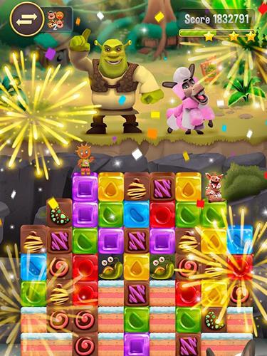Spiele basierend auf Zeichentrickfilmen Shrek sugar fever auf Deutsch