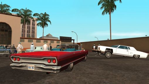 Action Grand theft auto: San Andreas for smartphone