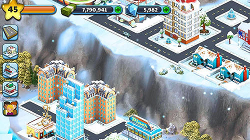 Snow town: Ice village world for Android