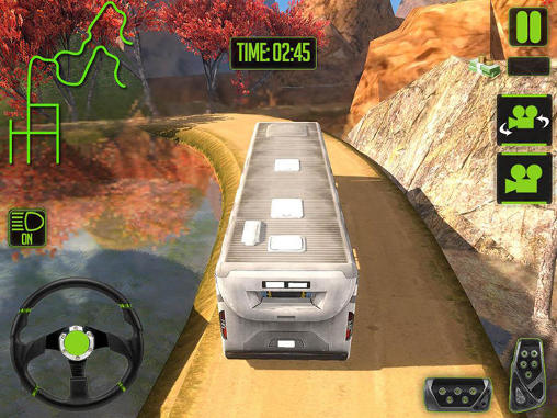 Off-road tourist bus driver для Android