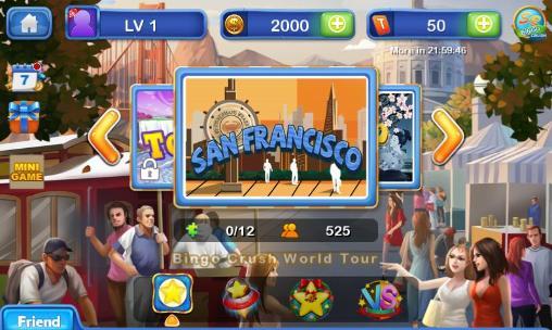 Glücksspiele Bingo crush: Fun bingo game für das Smartphone