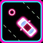 Neon 2 cars racing Symbol