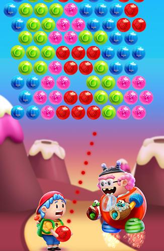 Blasen-Spiele Gummy pop auf Deutsch