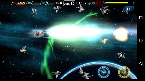 d'arcade Dariusburst SP pour smartphone