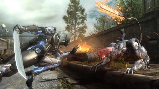 Slasher Metal gear rising: Revengeance auf Deutsch