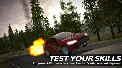 Screenshot Rush Rally 2 auf dem iPhone