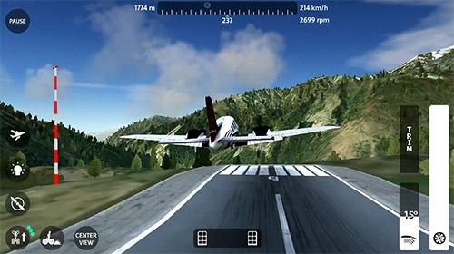Flugsimulatoren Flight simulator 2018 flywings auf Deutsch