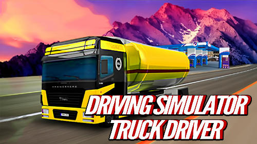 Driving simulator: Truck driver captura de tela 1