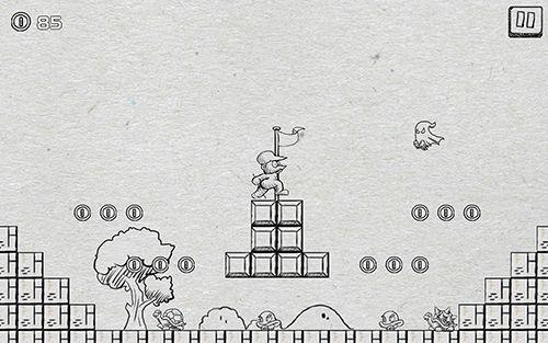 Arcade-Spiele: Lade Super Pentron Abenteuer auf dein Handy herunter