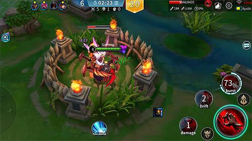 MOBA-Spiele Legend of ace auf Deutsch