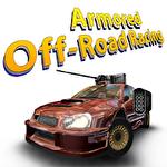 Armored off-road racing Symbol