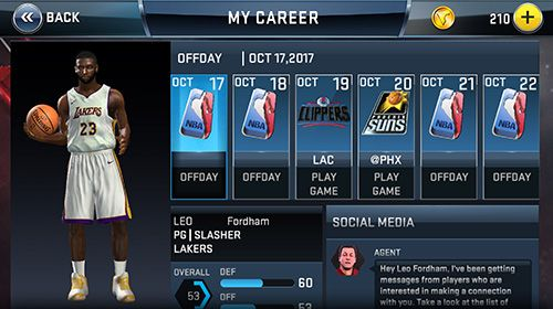 NBA 2K18 for iPhone for free