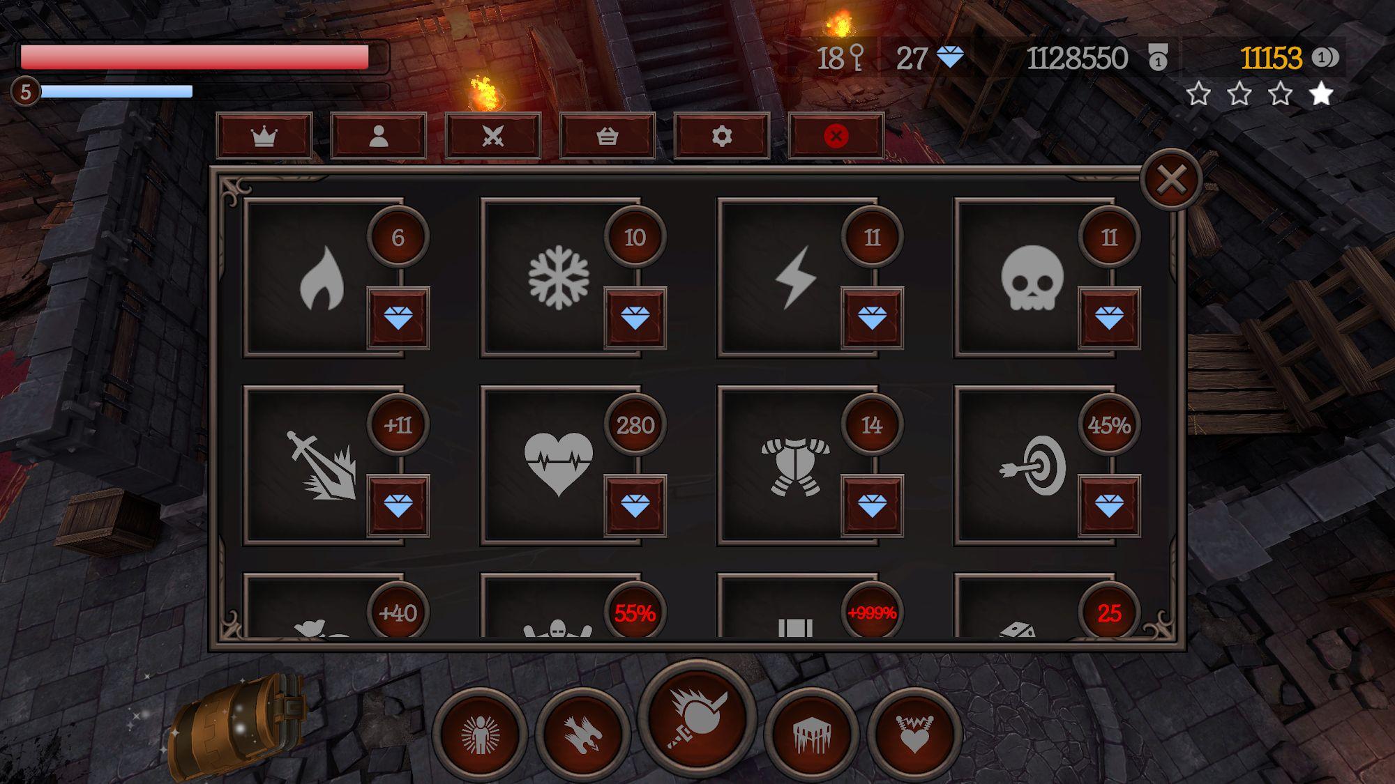 Dungeon Mania captura de pantalla 1