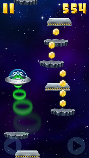 Monster jump: Galaxy Screenshot