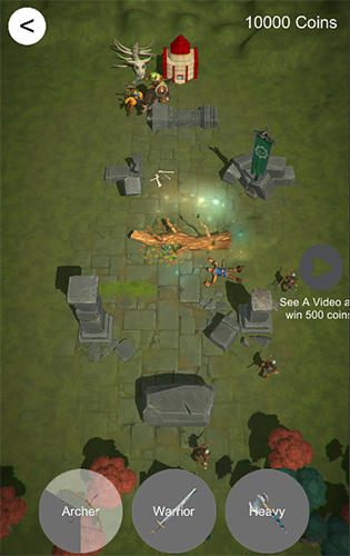 Conquest: Mini crusade and military strategy game pour Android