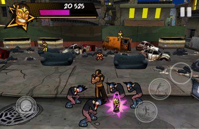 Strassen-Wrestler für iPhone