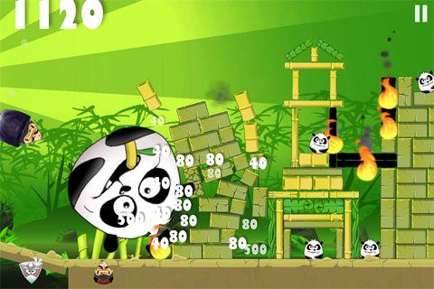 Screenshot Piraten gegen Ninjas gegen Zombies gegen Pandas auf dem iPhone