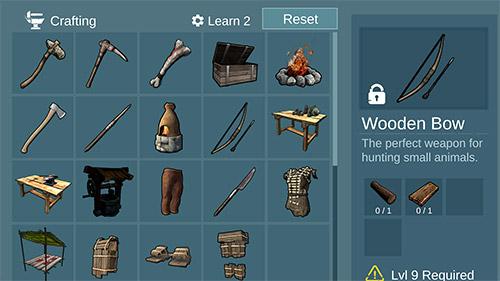 Actionspiele Island survival: Hunt, craft, survive für das Smartphone