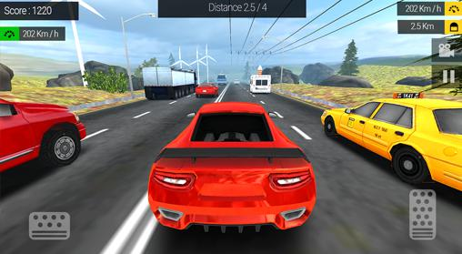 Racing in traffic for Android