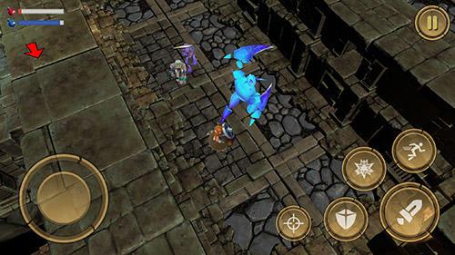 Treasure hunter. Dungeon fight: Monster slasher für Android