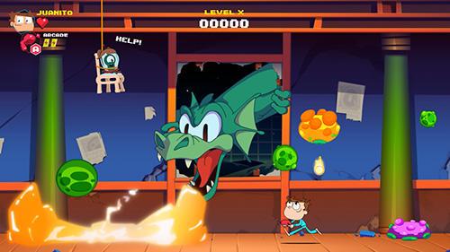 Juanito arcade mayhem captura de tela 1