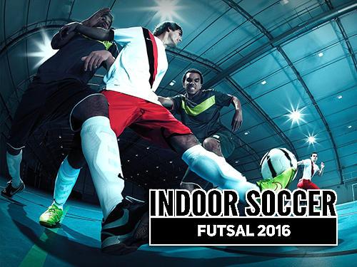 Indoor soccer futsal 2016 Symbol
