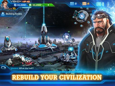 Стратегии: скачать Galaxy Legend на телефон