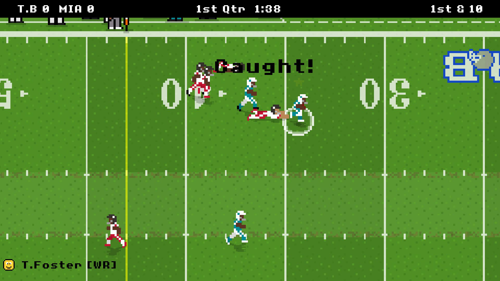 Retro Bowl скриншот 1