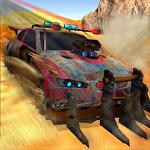 Buggy car race: Death racing icon