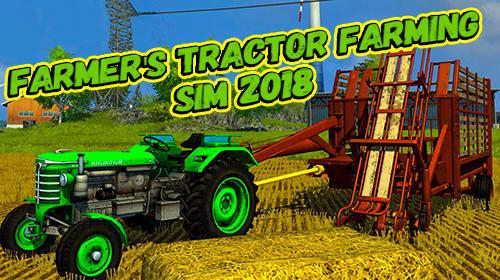 Farmer's tractor farming simulator 2018 captura de tela 1