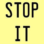 Stop it Symbol