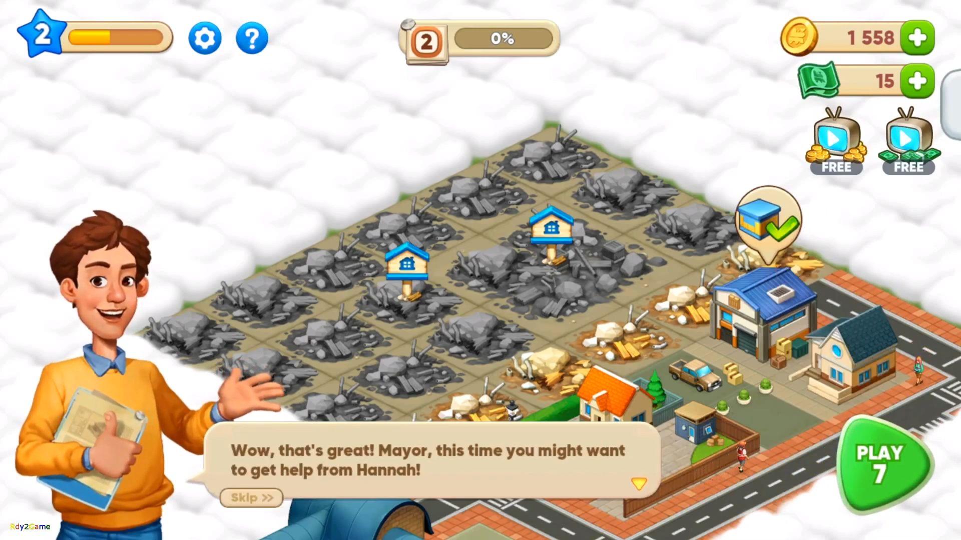 Merge train town! (Merge Games) скриншот 1